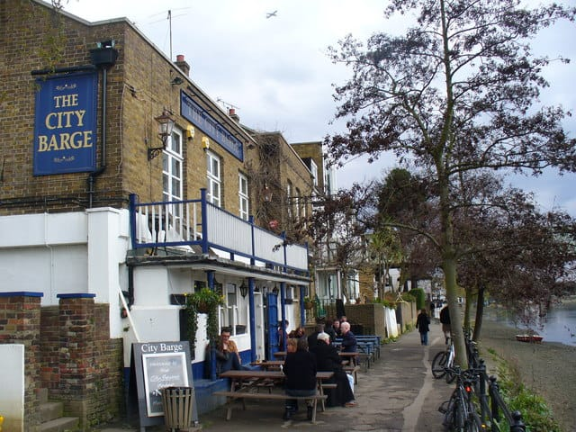 City Barge best pubs in West London Photo © Colin Smith (cc-by-sa/2.0)