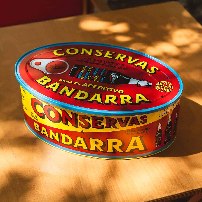 El Bandarra gift tin