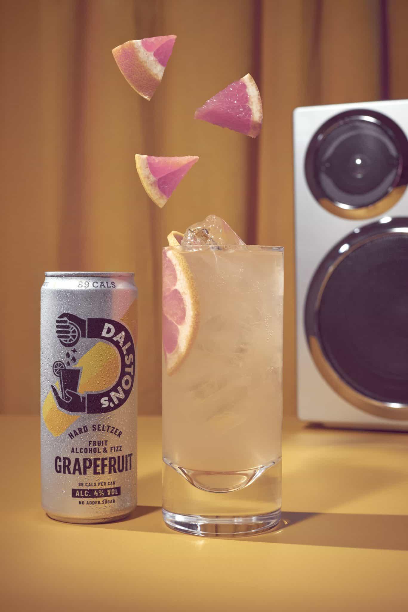 Dalston's Hard Seltzer Grapefruit