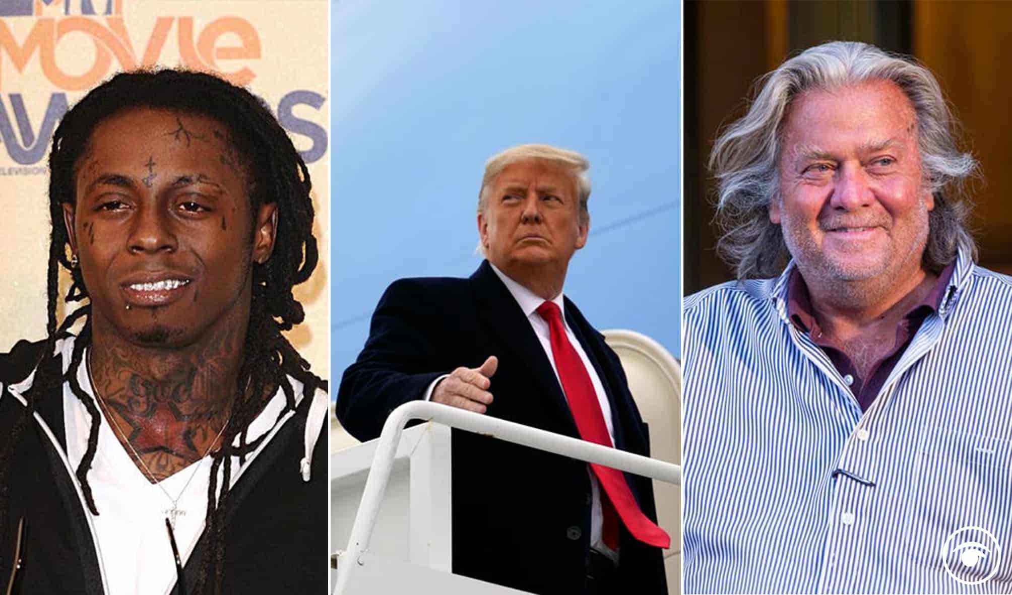 Top reactions as Donald Trump announces who he will pardon