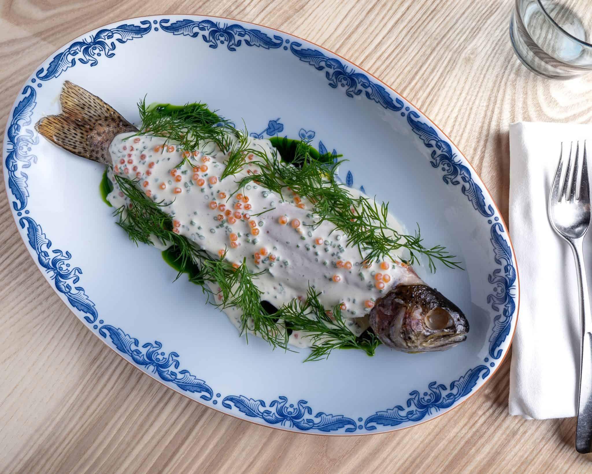 Aquavit DIY Hamper trout