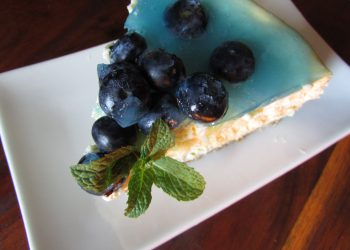 How To Make: Blueberry Baked Cheesecake