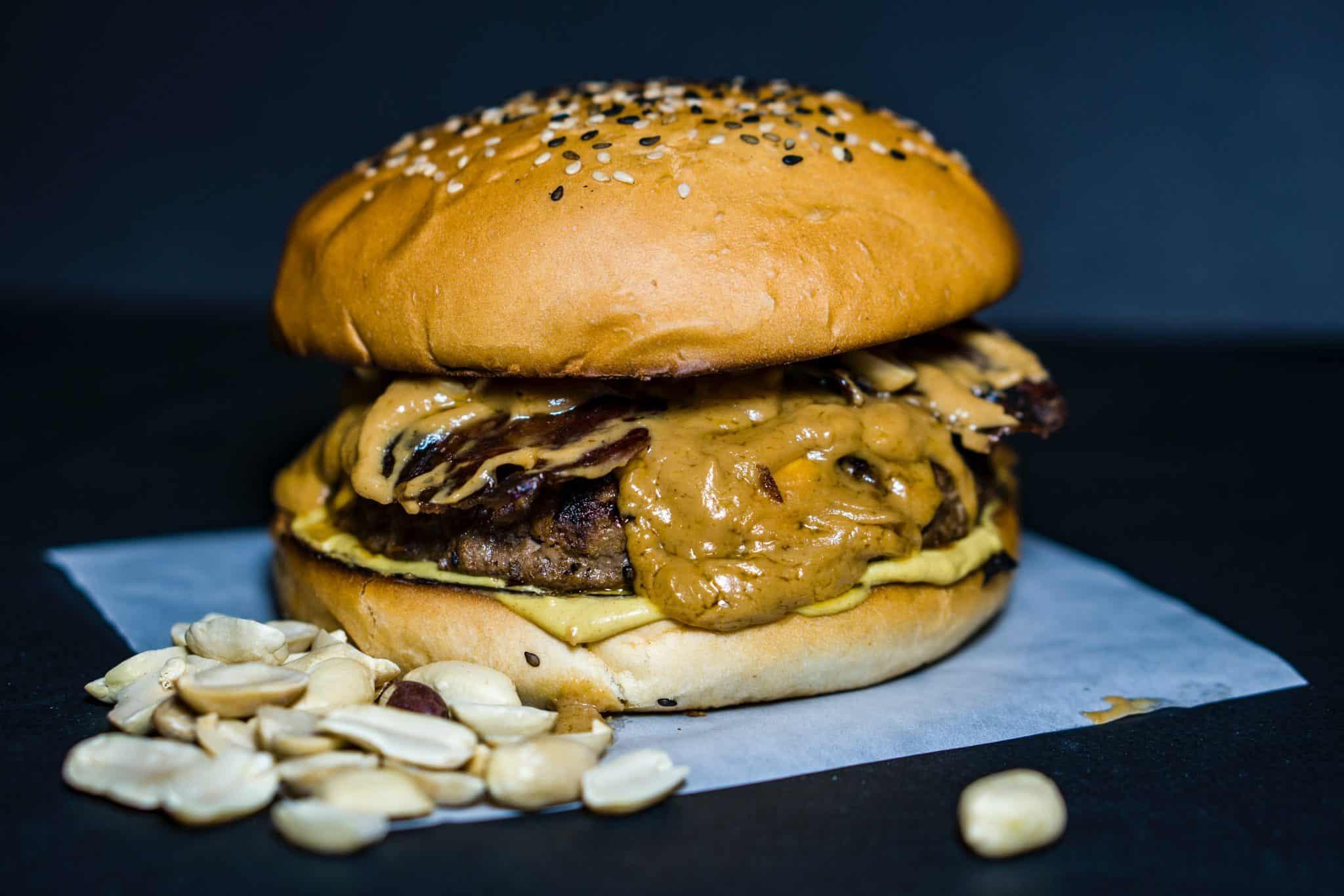 Peanut butter burger unusual food pairings |
