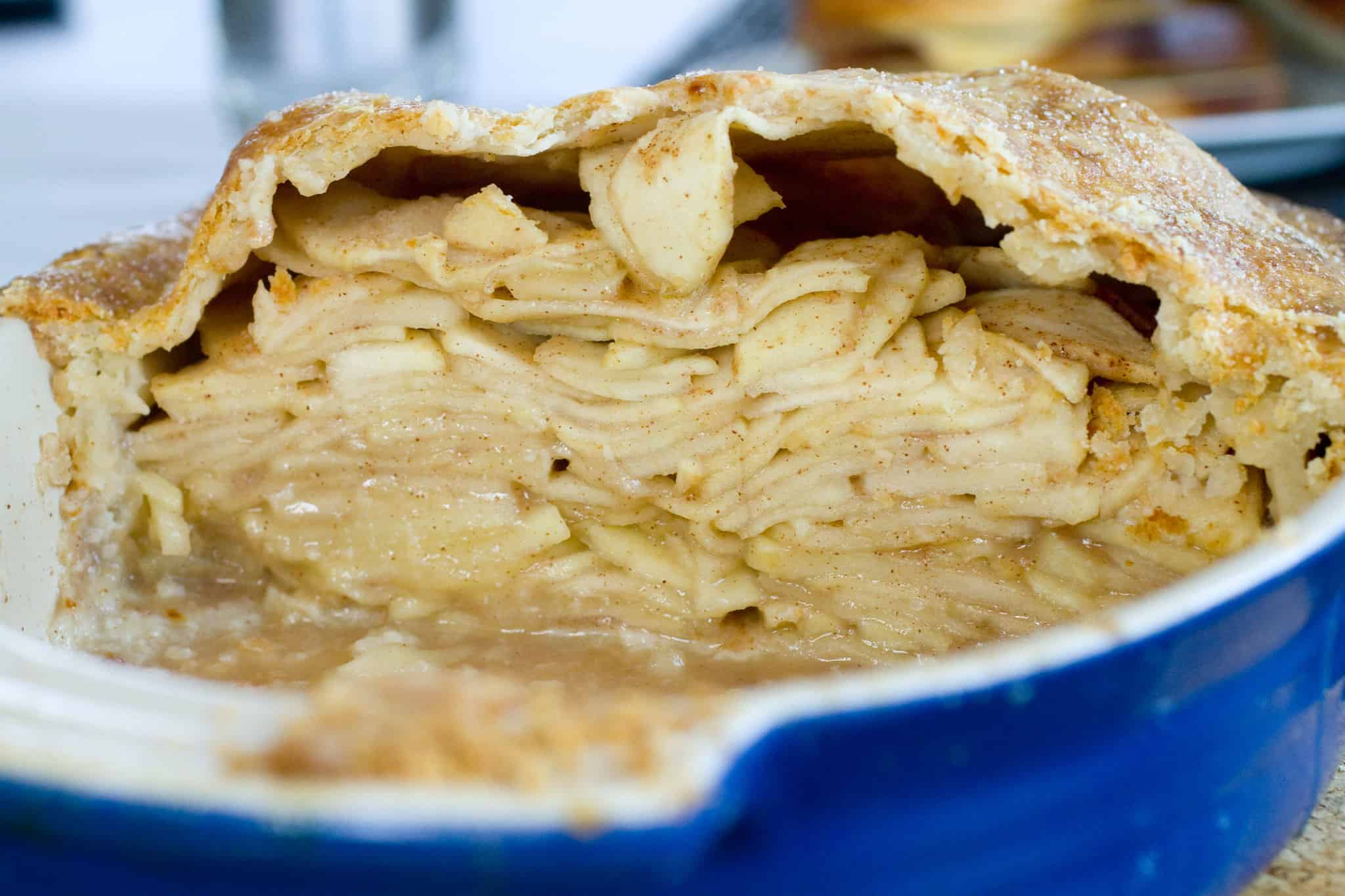Apple pie and cheddar
