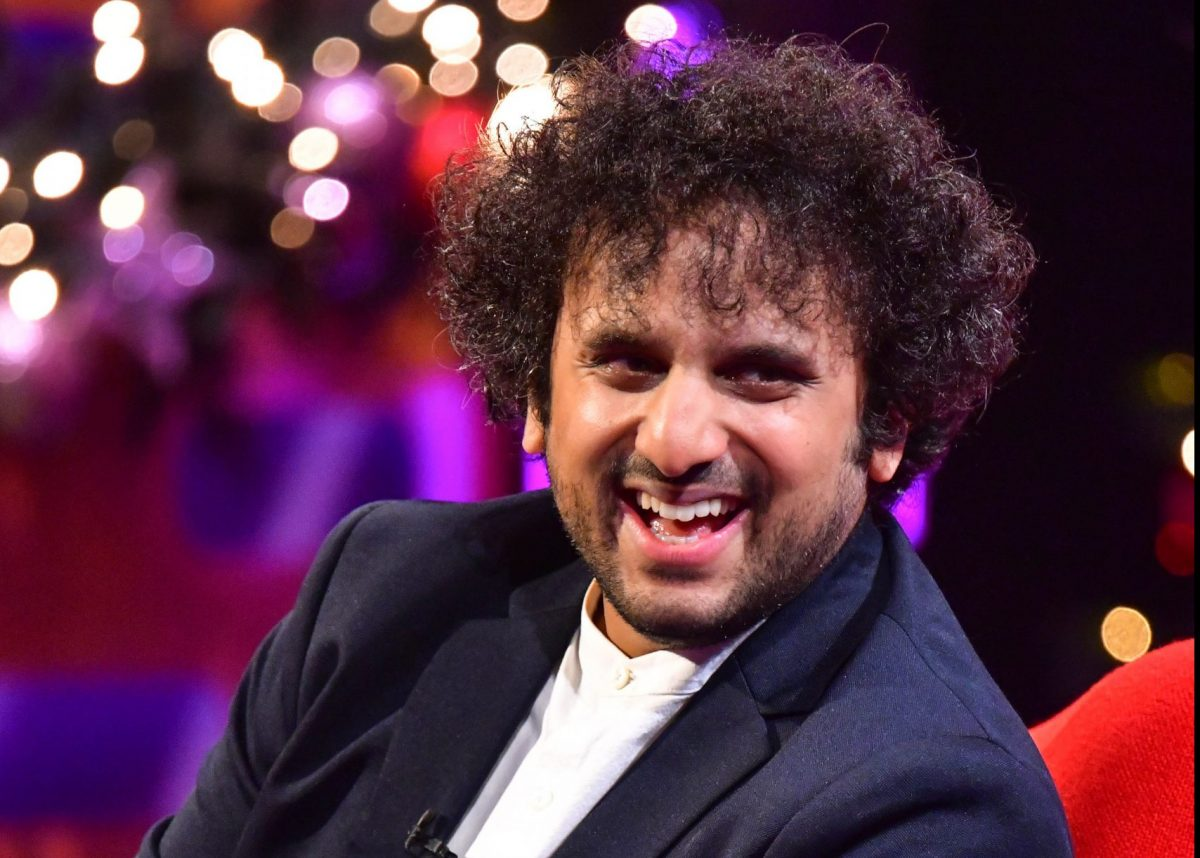 EMBARGOED TO 0001 TUESDAY DECEMBER 29 EDITORIAL USE ONLY Nish Kumar during the filming for the Graham Norton Show at BBC Studioworks 6 Television Centre, Wood Lane, London, to be aired on BBC One on 31 December.
