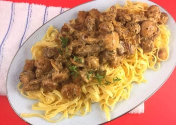 How To Make: Beef Stroganoff with Buttery Noodles