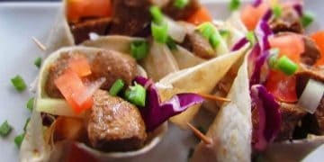 How To Make: Asian Mini Beef Wraps