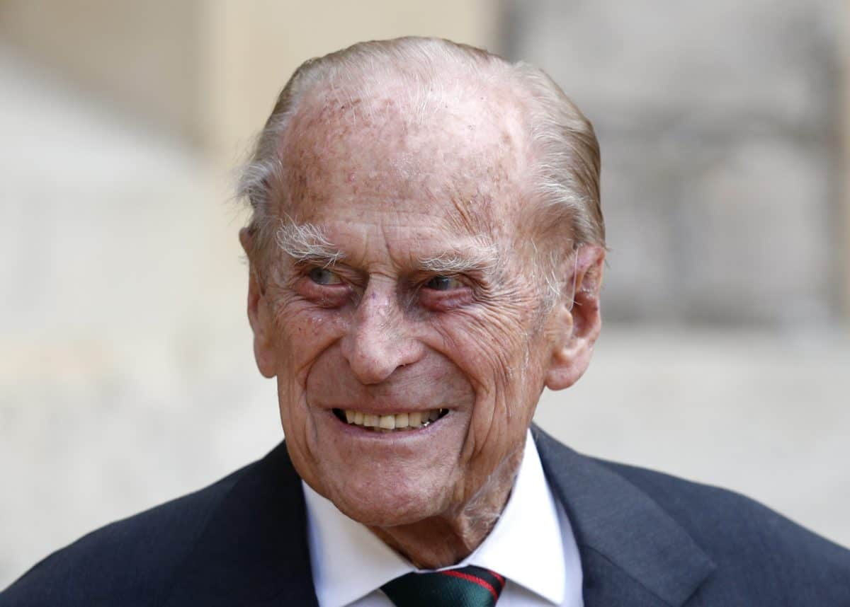 The Duke of Edinburgh at Windsor Castle during a ceremony for the transfer of the Colonel-in-Chief of the Rifles from the Duke to the Duchess of Cornwall, who will conclude the ceremony from Highgrove House.
