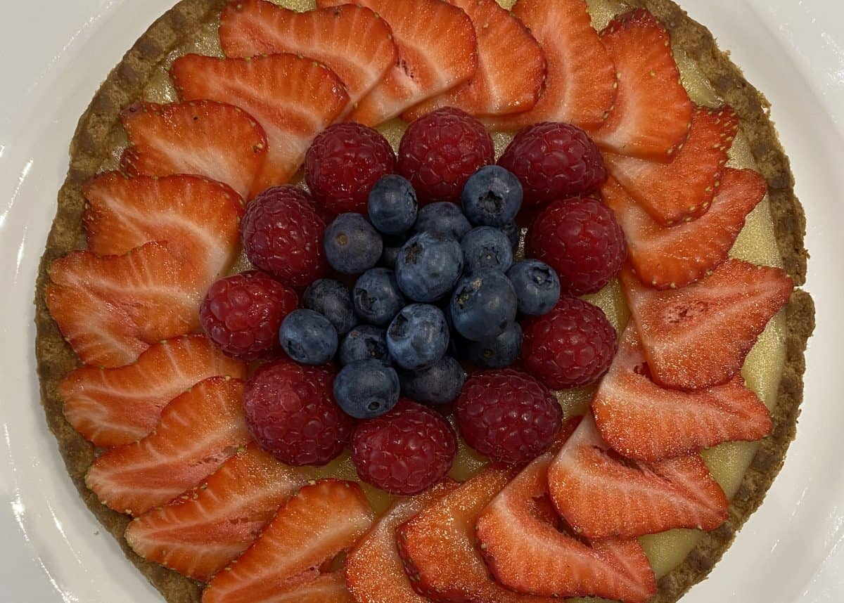 Summer Fruits Tart recipe Callum Graham