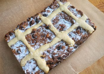 Hot cross bun bread pudding recipe jonathan hatchman