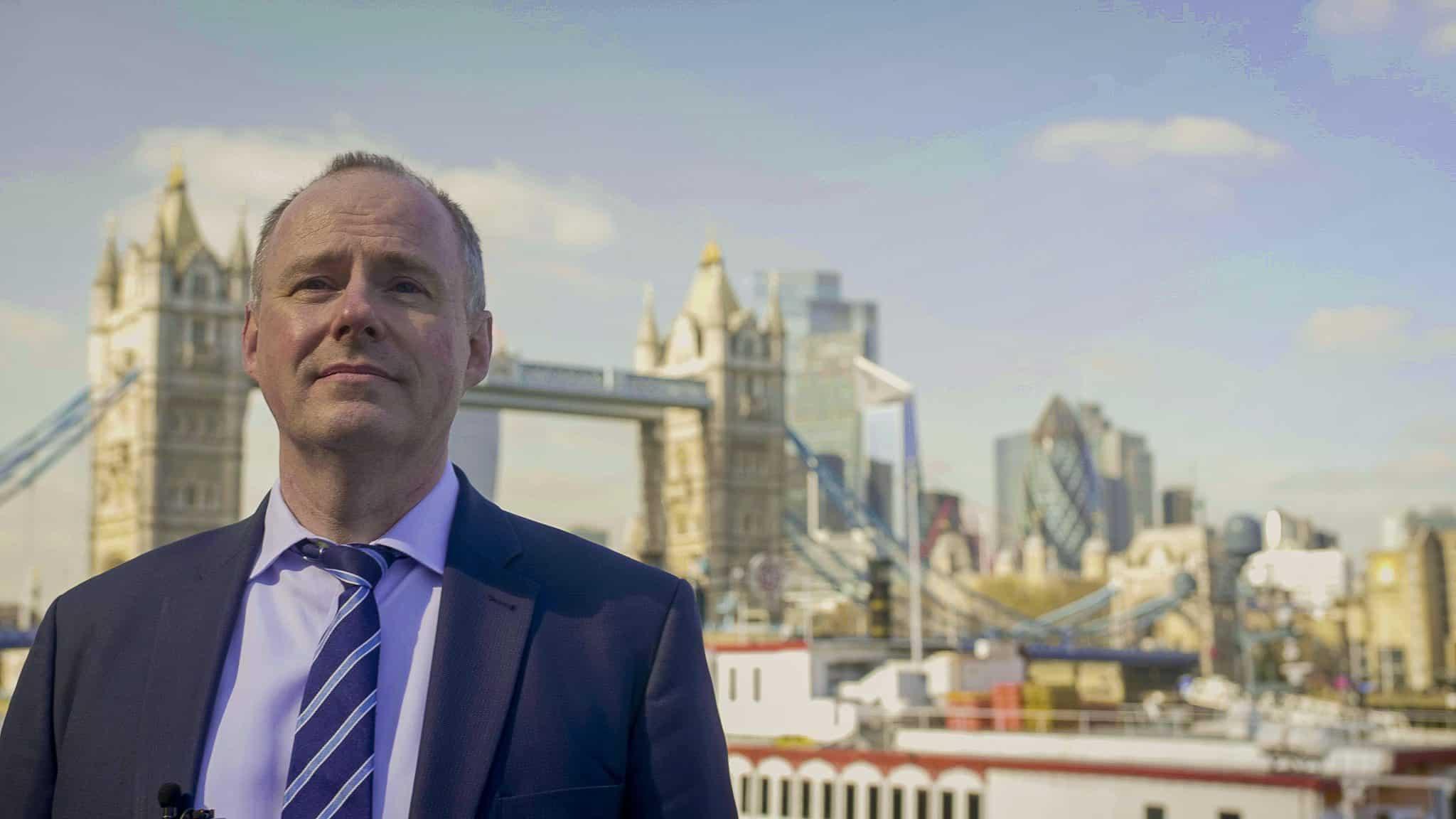 Richard Hewison, Rejoin EU's candidate for London Mayor