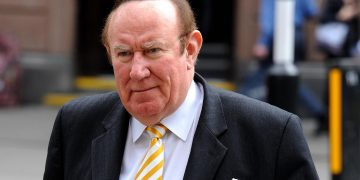 Andrew Neil is launching  GB news. Credit;PA