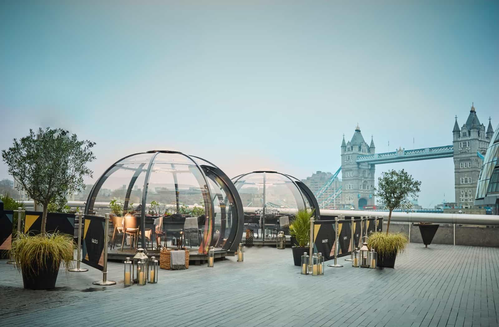 Gaucho Tower Bridge outdoor dining al fresco terrace re-opening 12th april