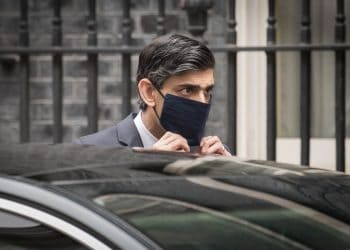 Chancellor of the Exchequer, Rishi Sunak outside 11 Downing Street, London, before heading to the House of Commons to deliver his Budget. Picture date: Wednesday March 3, 2021.
