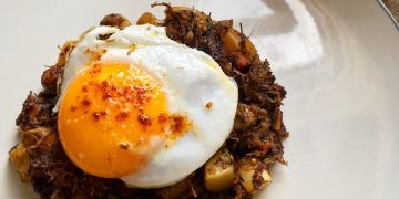 Ox Cheek hash recipe leftovers | Photo: Jonathan Hatchman