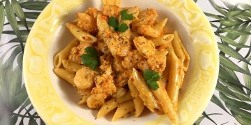 How To Make: Prawns and Penne Pasta