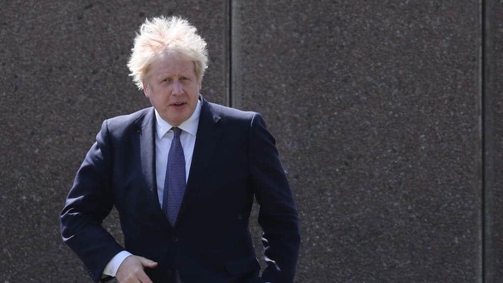 County court judgment against Boris Johnson 'set aside'