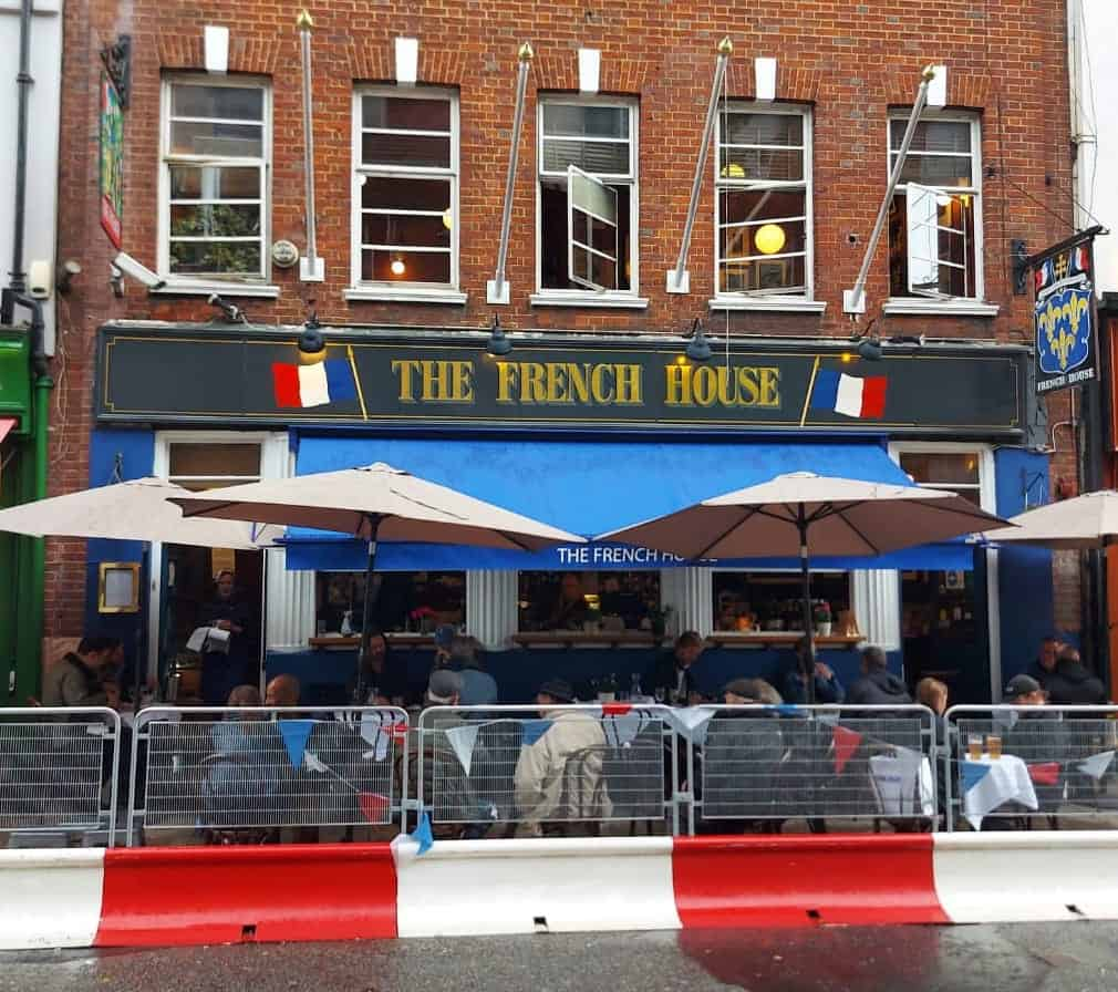 The French House best pubs in central London