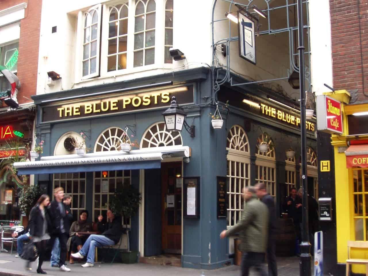 Blue Posts, best pubs in central London | Photo: Ewan Munro / Flickr