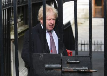 Foreign Secretary Boris Johnson arrives in Downing Street, London, for a Cabinet meeting.