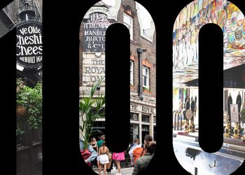 Top 100 pubs in London