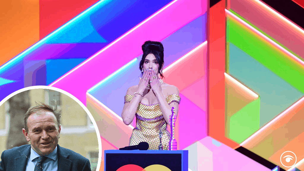 George Eustice responds to Dua Lipa's Brits call for NHS pay rise
