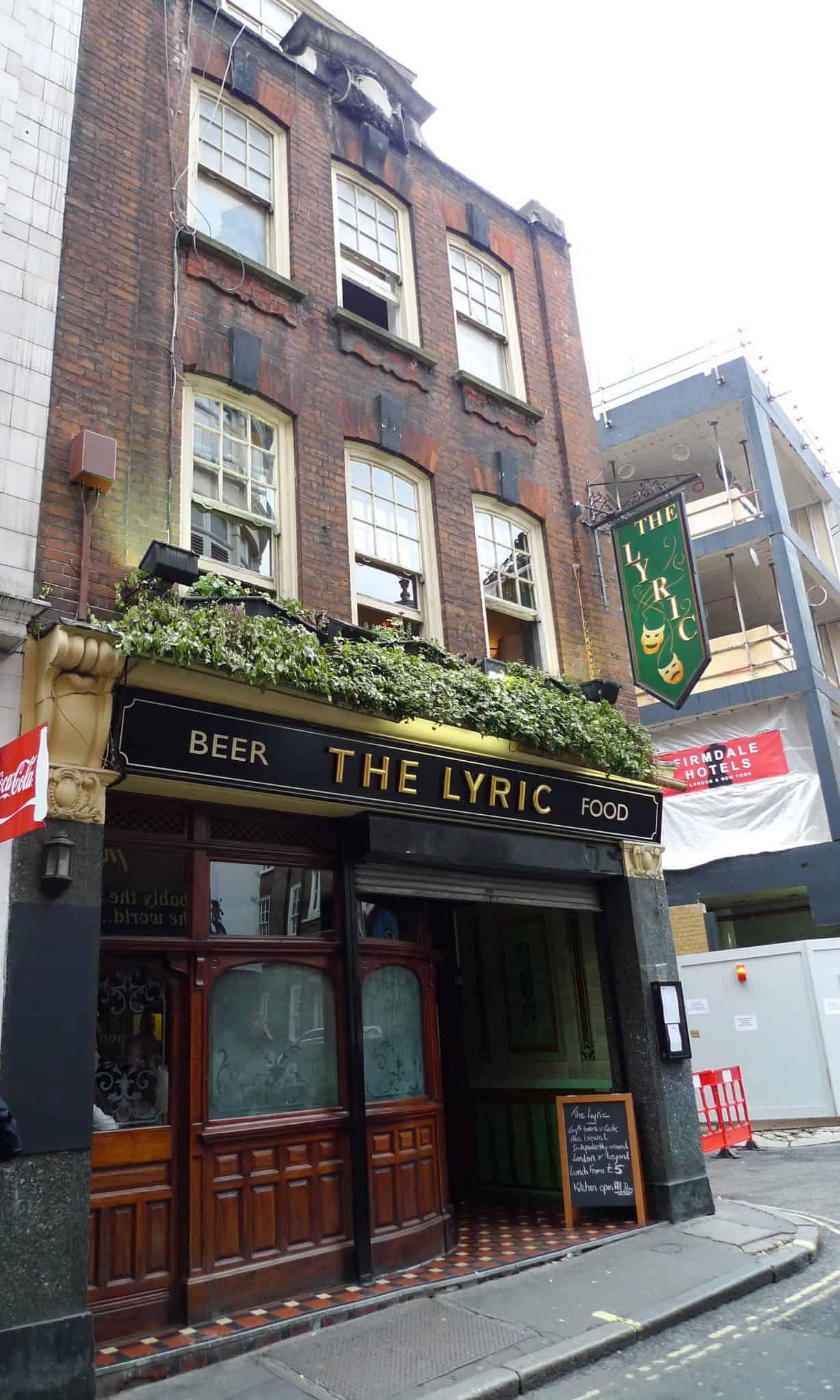 The Lyric Soho, best pubs in central London | Photo: Ewan Munro / Flickr