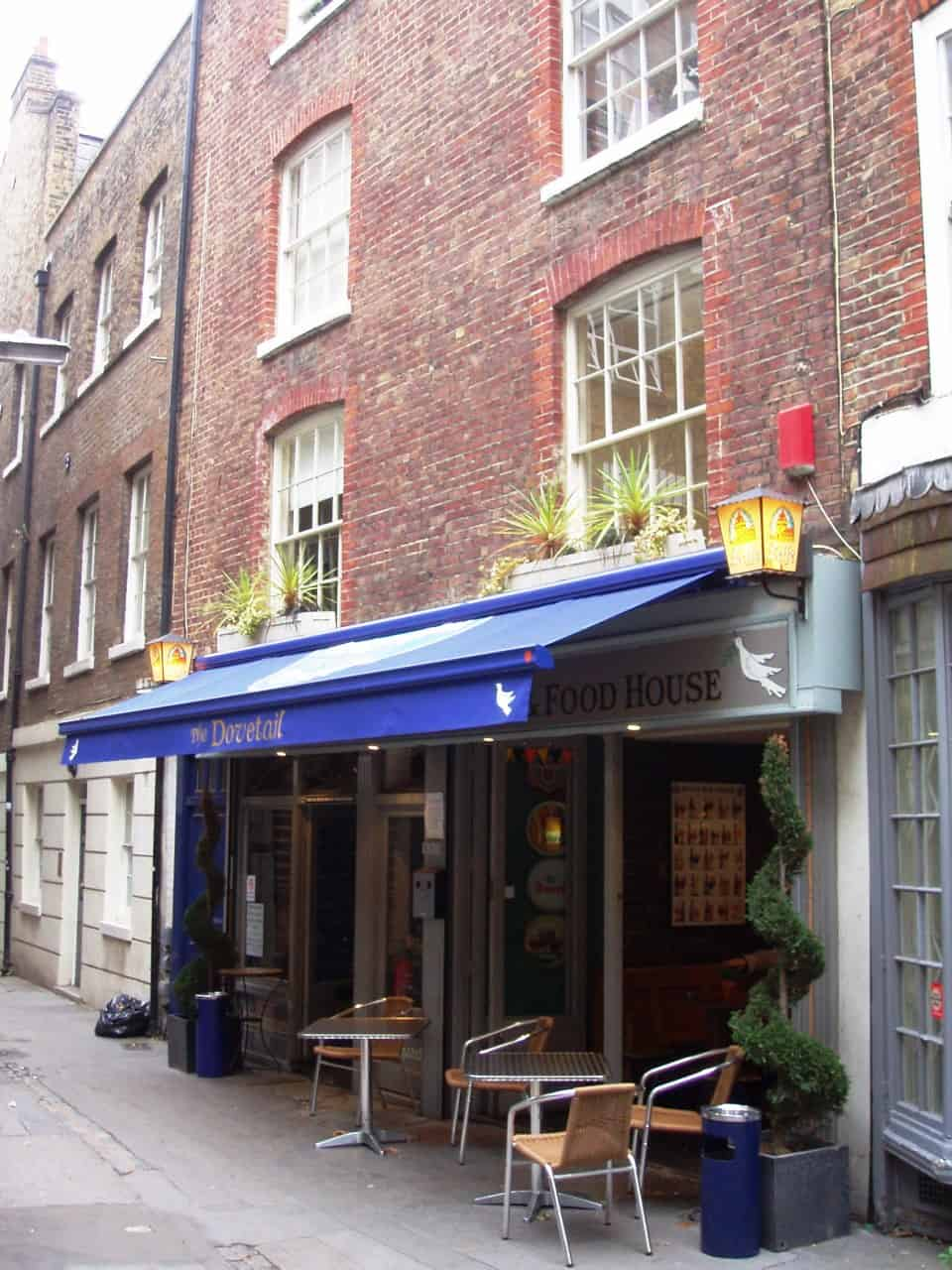 The Dovetail, best pubs in central London | Photo: Ewan Munro / Flickr