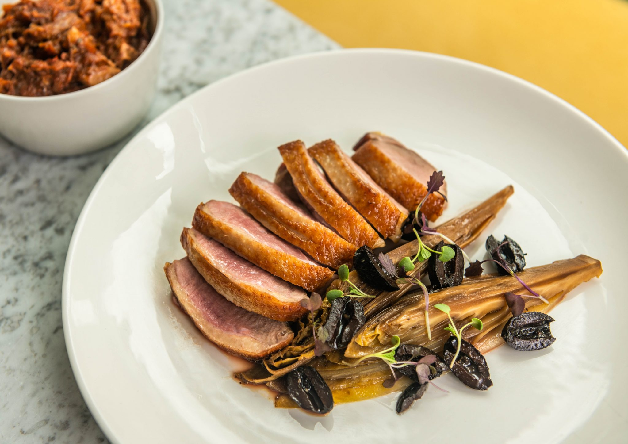 duck London Food and Drink Photography - LIV Restaurant Sloane Square | Photo: Nic Crilly-Hargrave