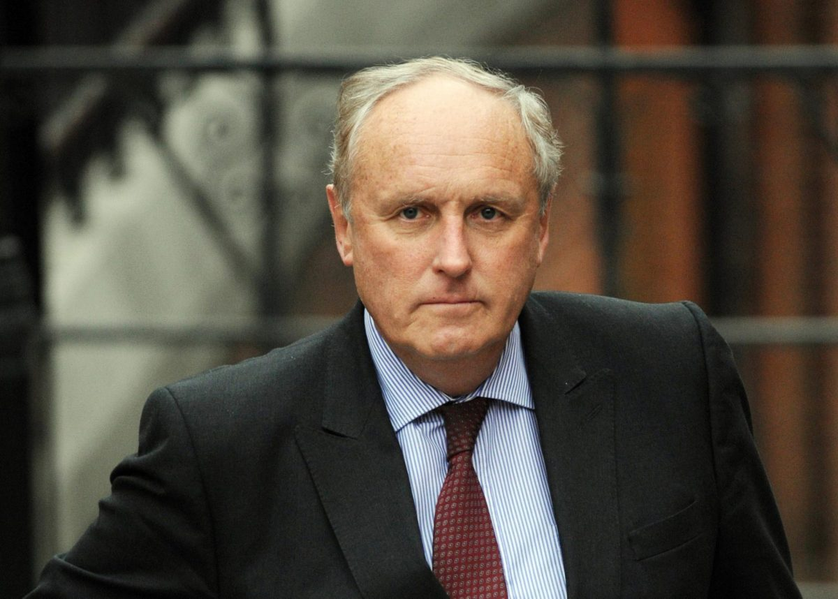 "File photo dated 9/2/2012 of Paul Dacre who has been appointed chairman and editor-in-chief of Associated Newspapers, in a move which will see him ""step back"" from his role as editor of the Daily Mail from November, the paper's owners DMGT have said."