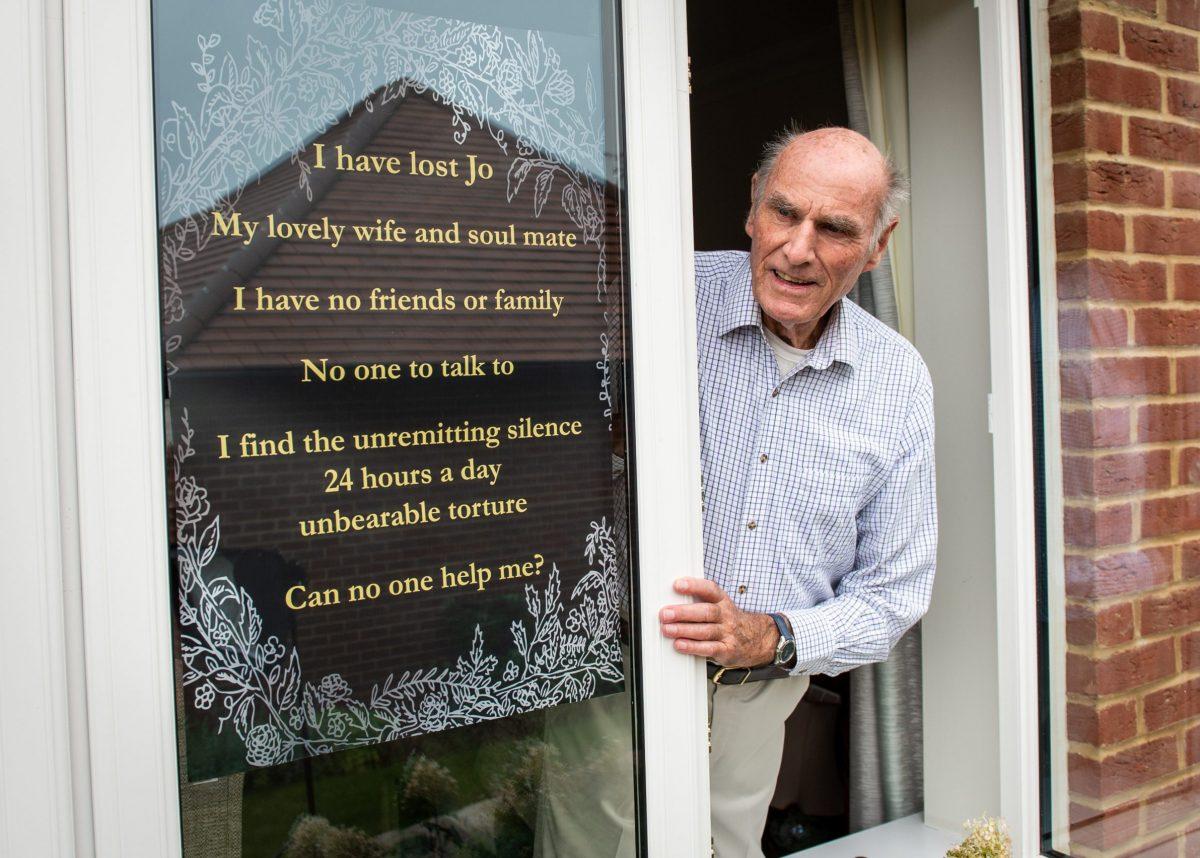 Tony Williams, 75. Credit;SWNS