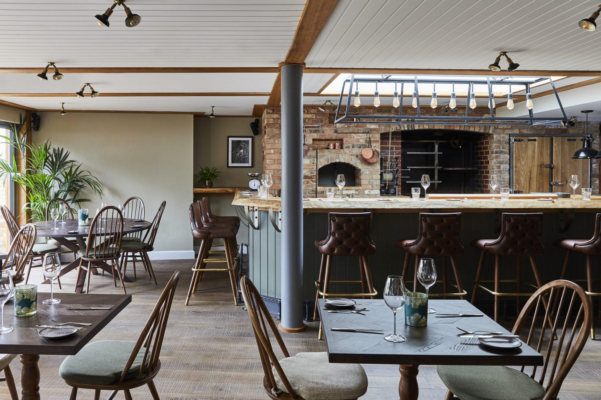 The Woodsman Restaurant Stratford-upon-Avon interior