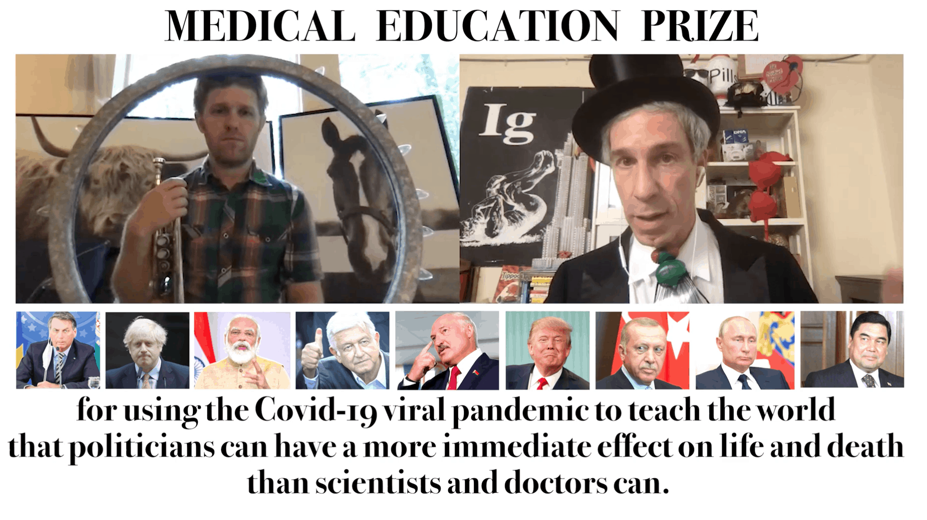 Ig Nobel Medical Education Prize