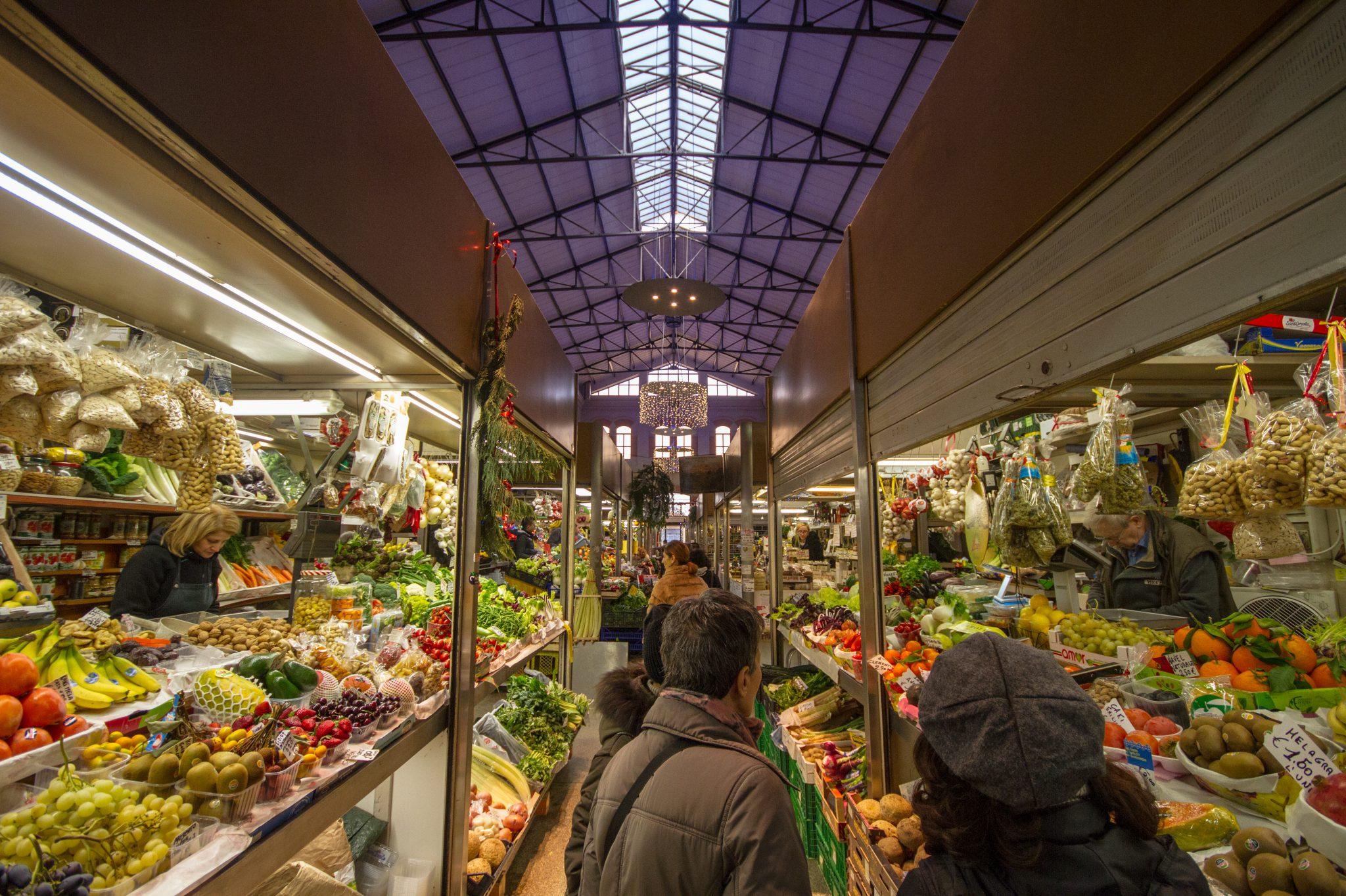 Mercato delle Erbe Bologna, Italy