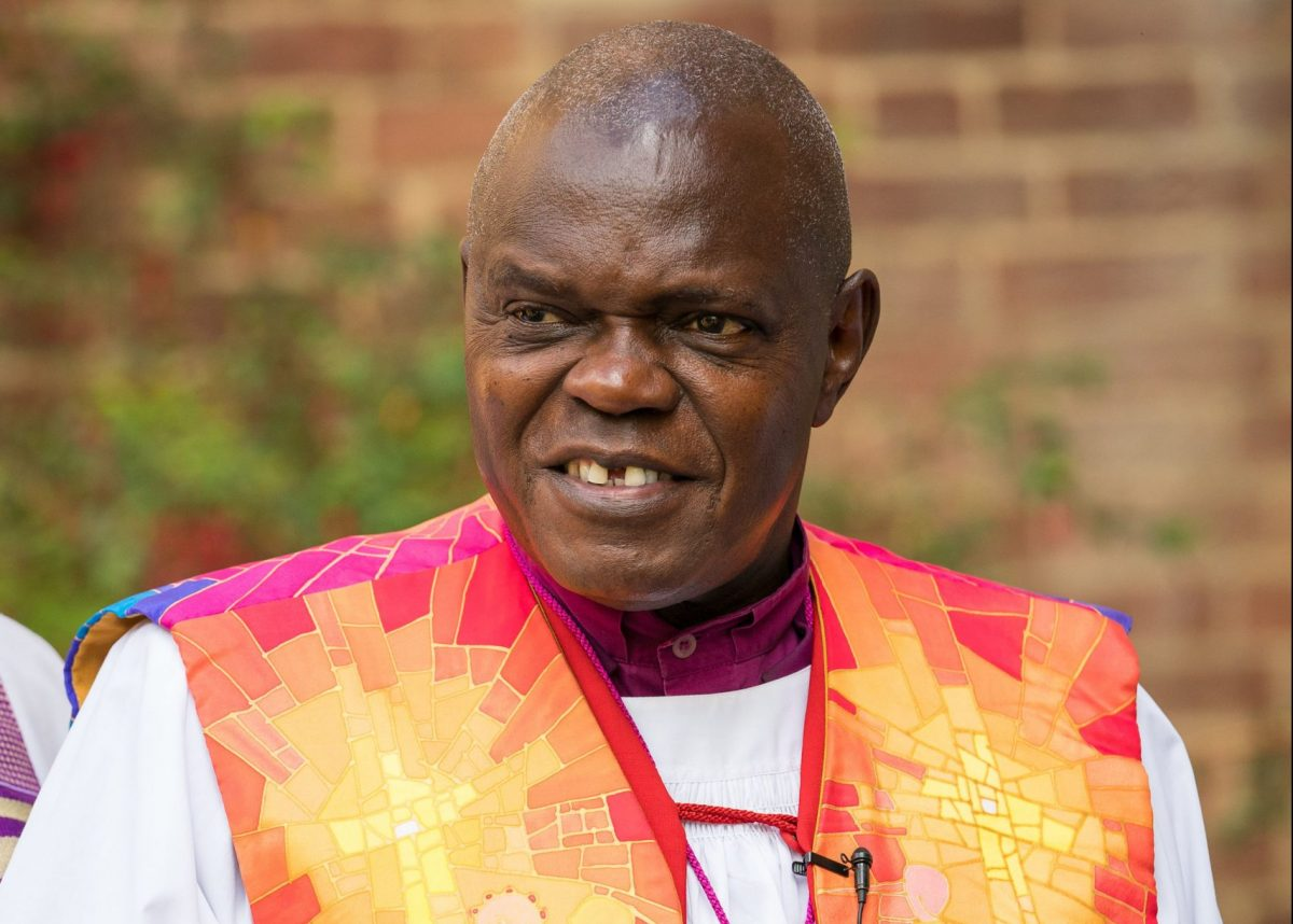 File photo dated 27/07/17 of the Archbishop of York Dr John Sentamu attending a memorial service for victims of the fire at Grenfell Tower. Dr Sentamu has announced that he will retire on June 7, 2020.