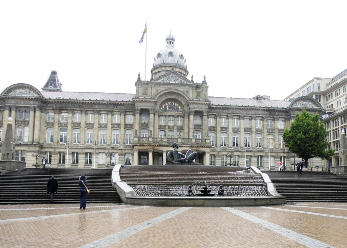 The Council House in Victoria Square, Birmingham.  Credit;SWNS