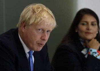 Boris Johnson, Priti Patel, Home Office, immigration