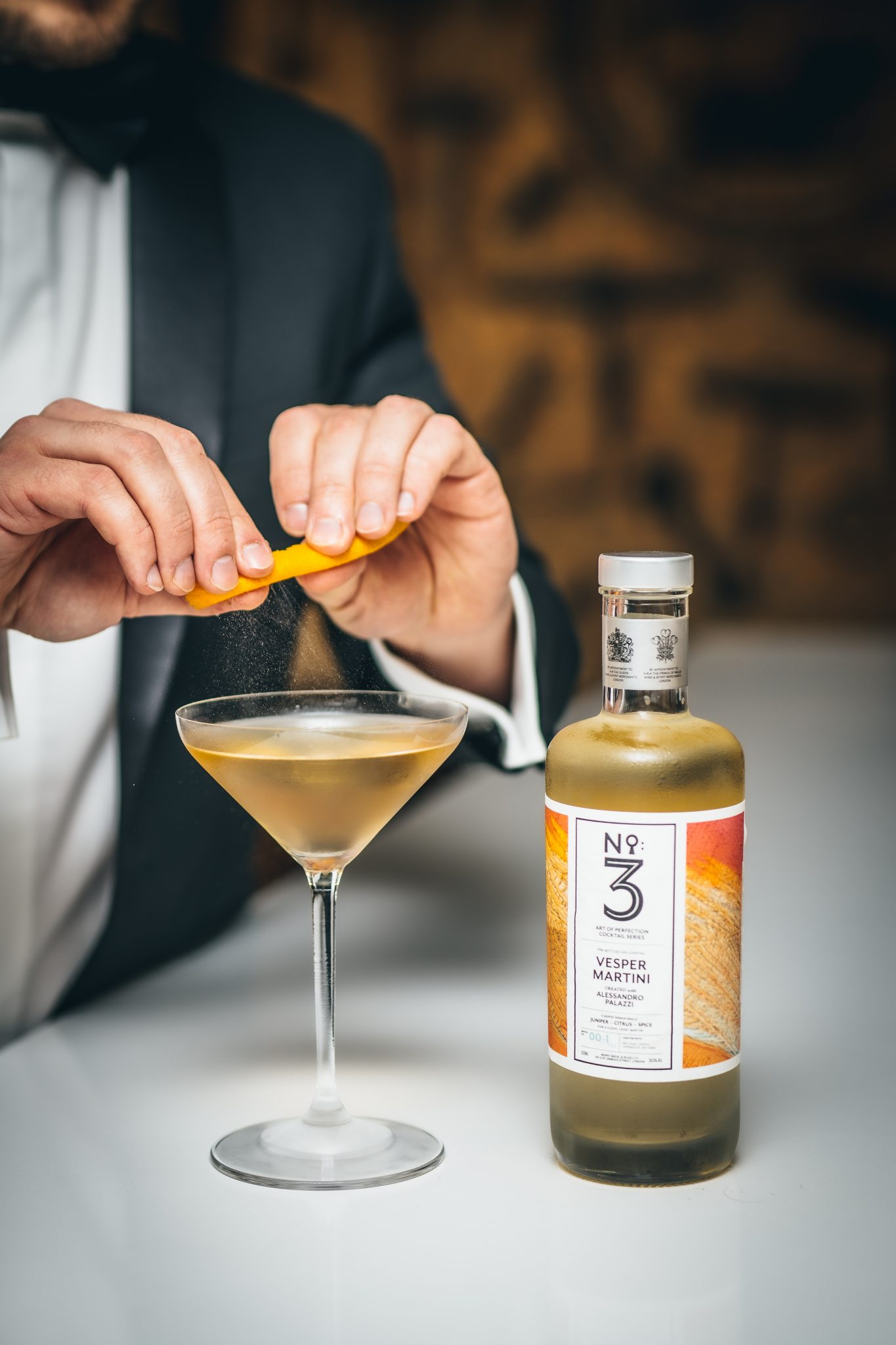 No.3 Gin Vesper Martini DUKES portrait| Photo: @lateef.photography