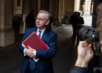 Chancellor of the Duchy of Lancaster Michael Gove arrives in Downing Street, London, following a Cabinet meeting at the Foreign and Commonwealth Office.
