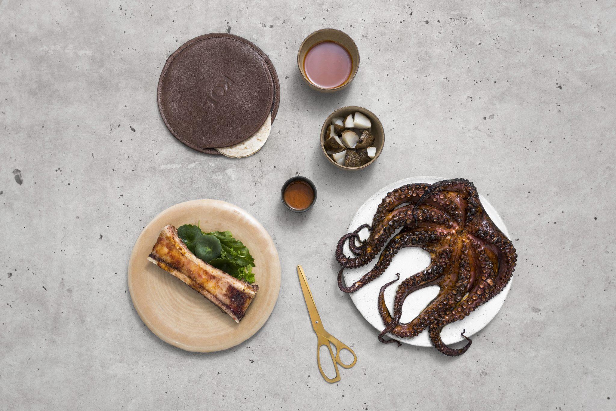 New restaurant openings KOL Seaweed octopus