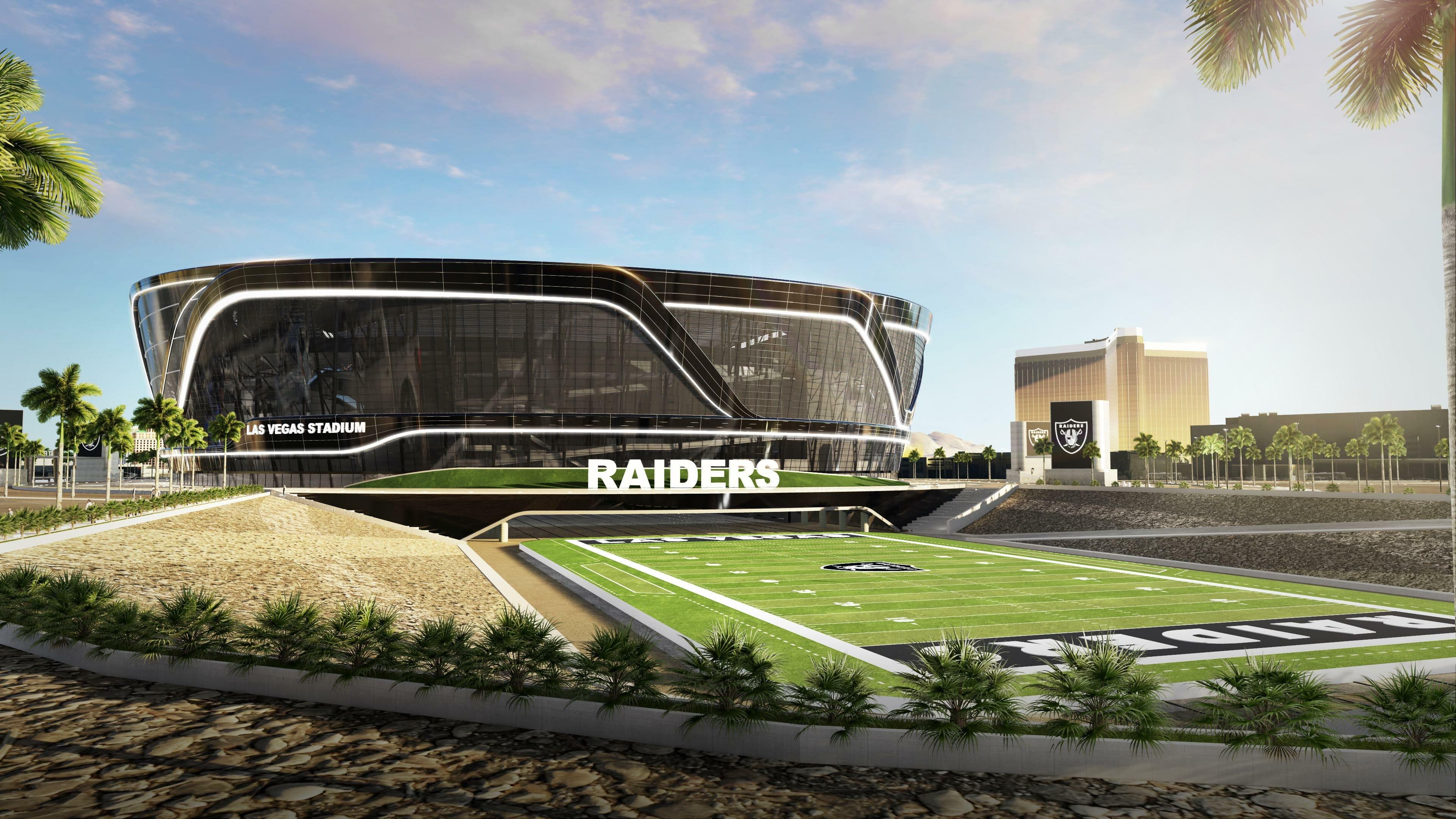 Photo rendering of Las Vegas Stadium