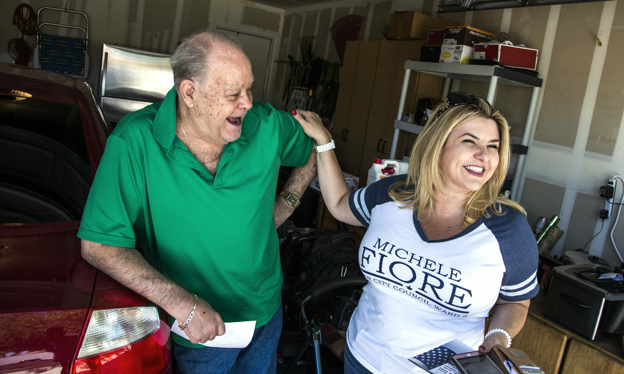 Michele Fiore as a candidate for Ward 6