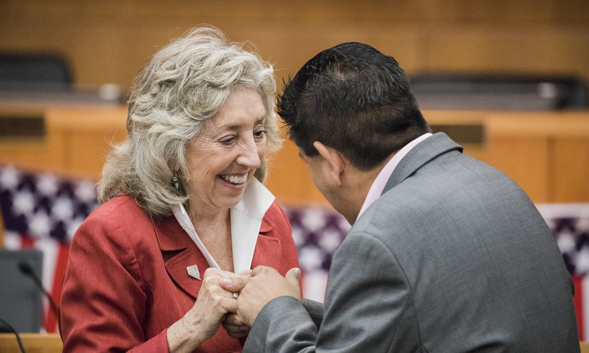 Titus bows out of U.S. Senate race, announces she will run for re-election  in 1st Congressional District - The Nevada Independent