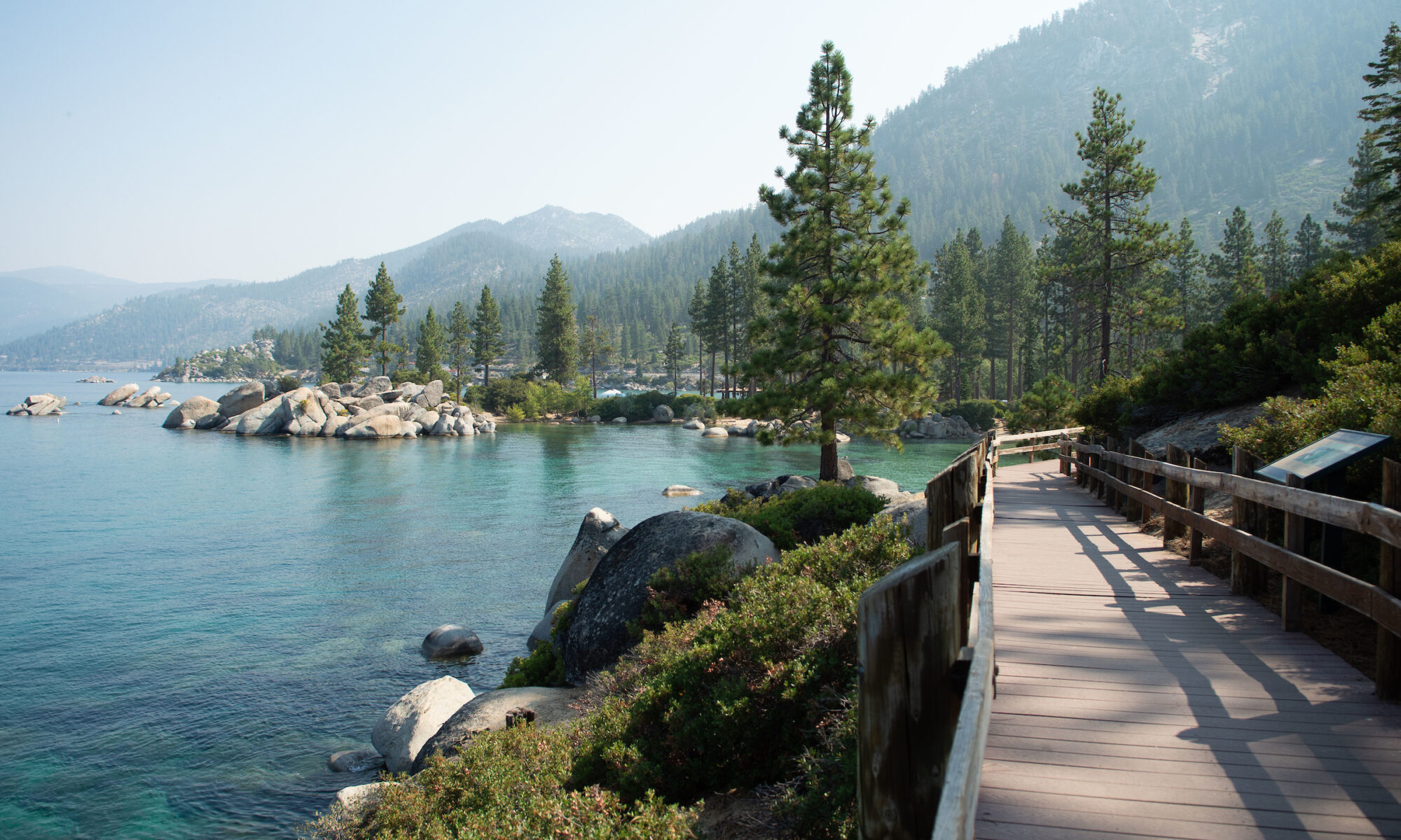 View of Lake Tahoe from Sand Harbor State Park in Incline Village, Nevada