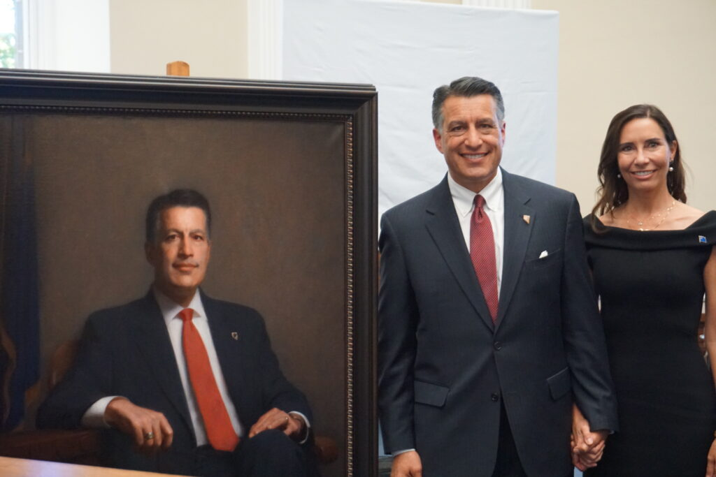 As he leaves office, new Sandoval portrait to join ranks in ...