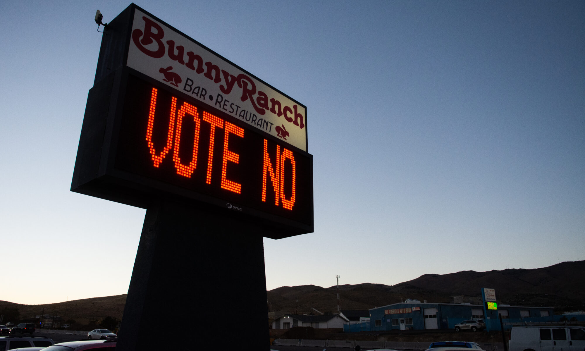 Senate introduces bill to ban brothels in Nevada