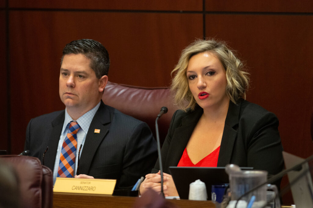 Assemblyman Yeager and Senator Nicole Cannizzaro,