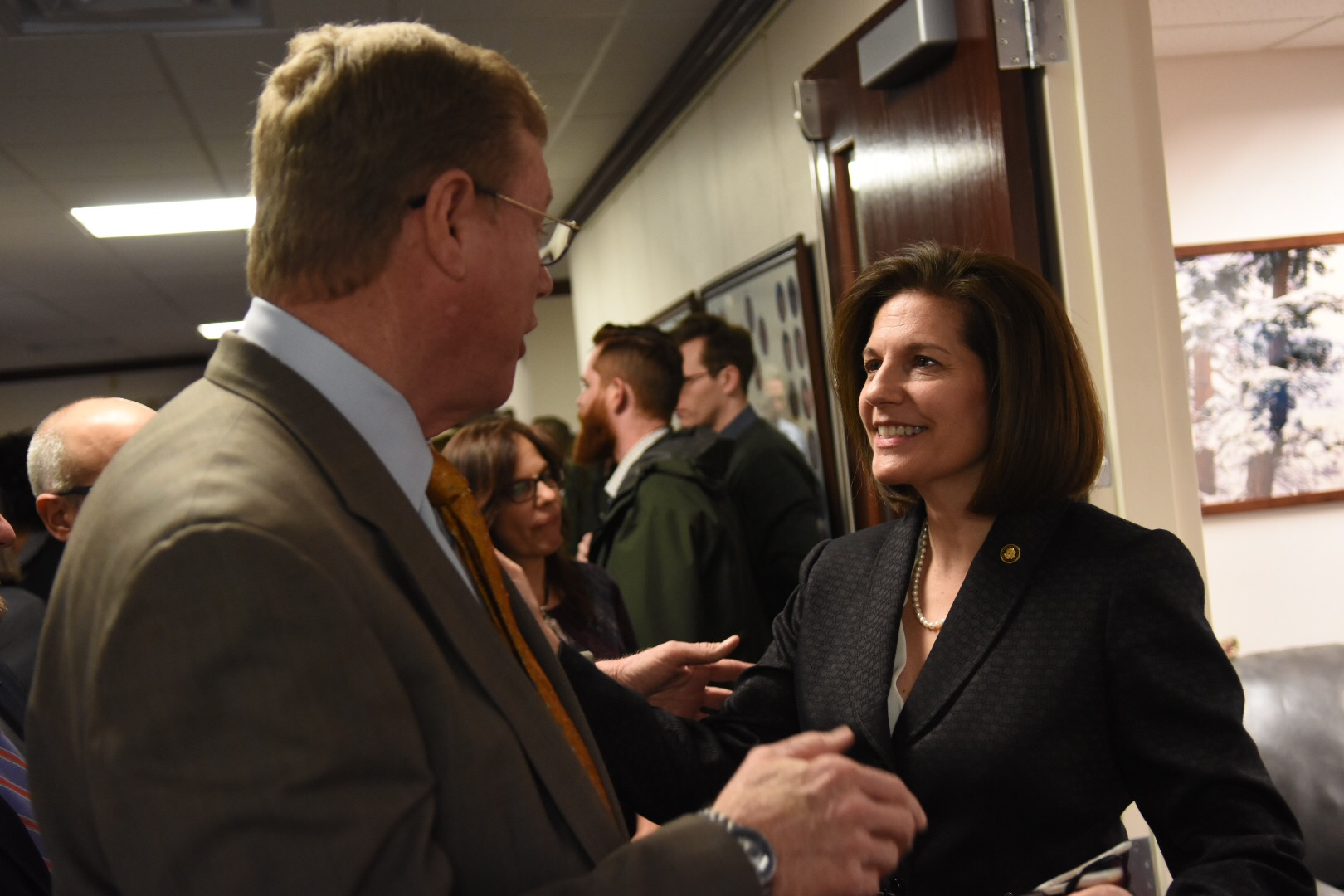 Cortez Masto will keep delaying Department of Energy nominees until she gets written promise that no more plutonium is coming