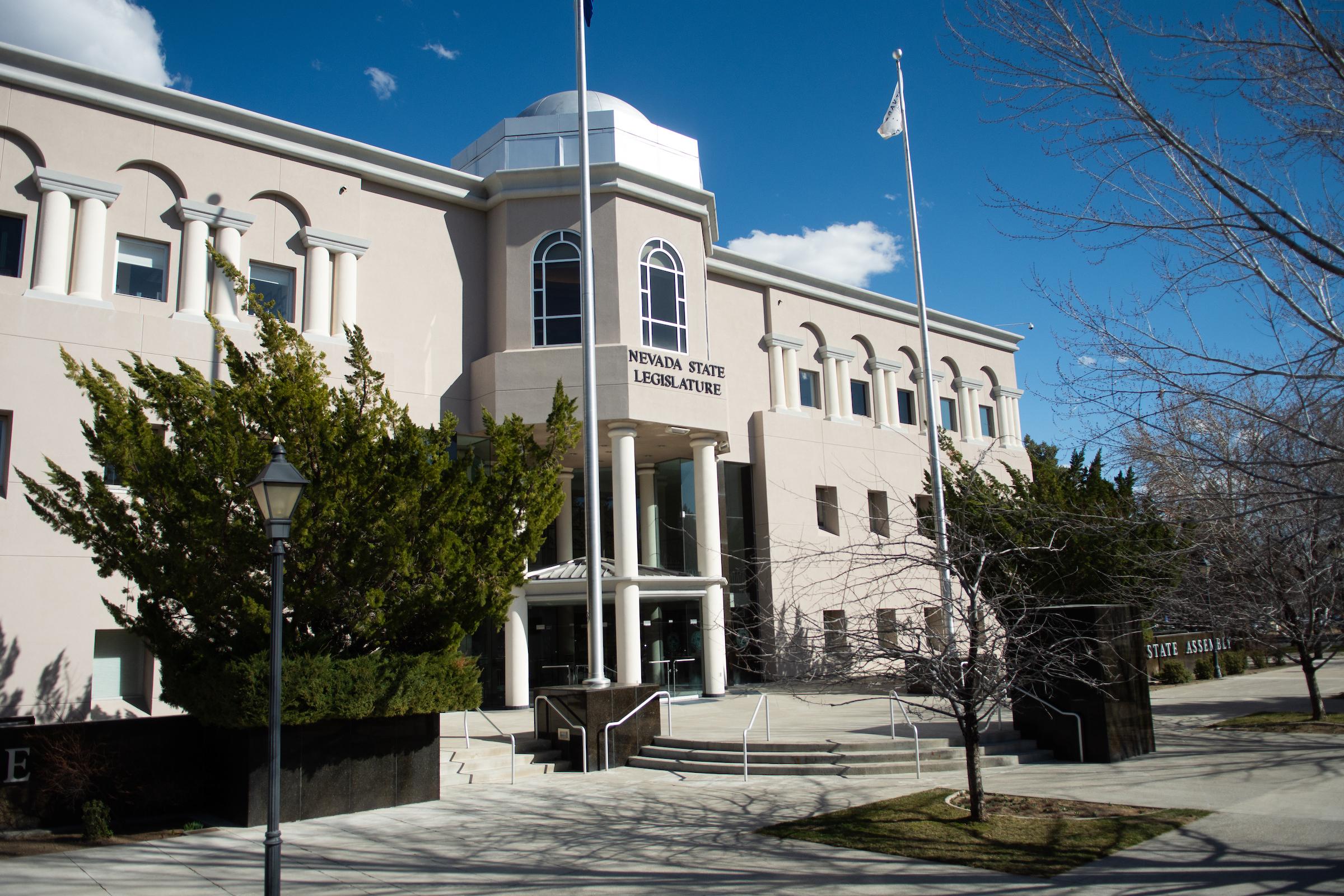 Photo of the Nevada Legislature building