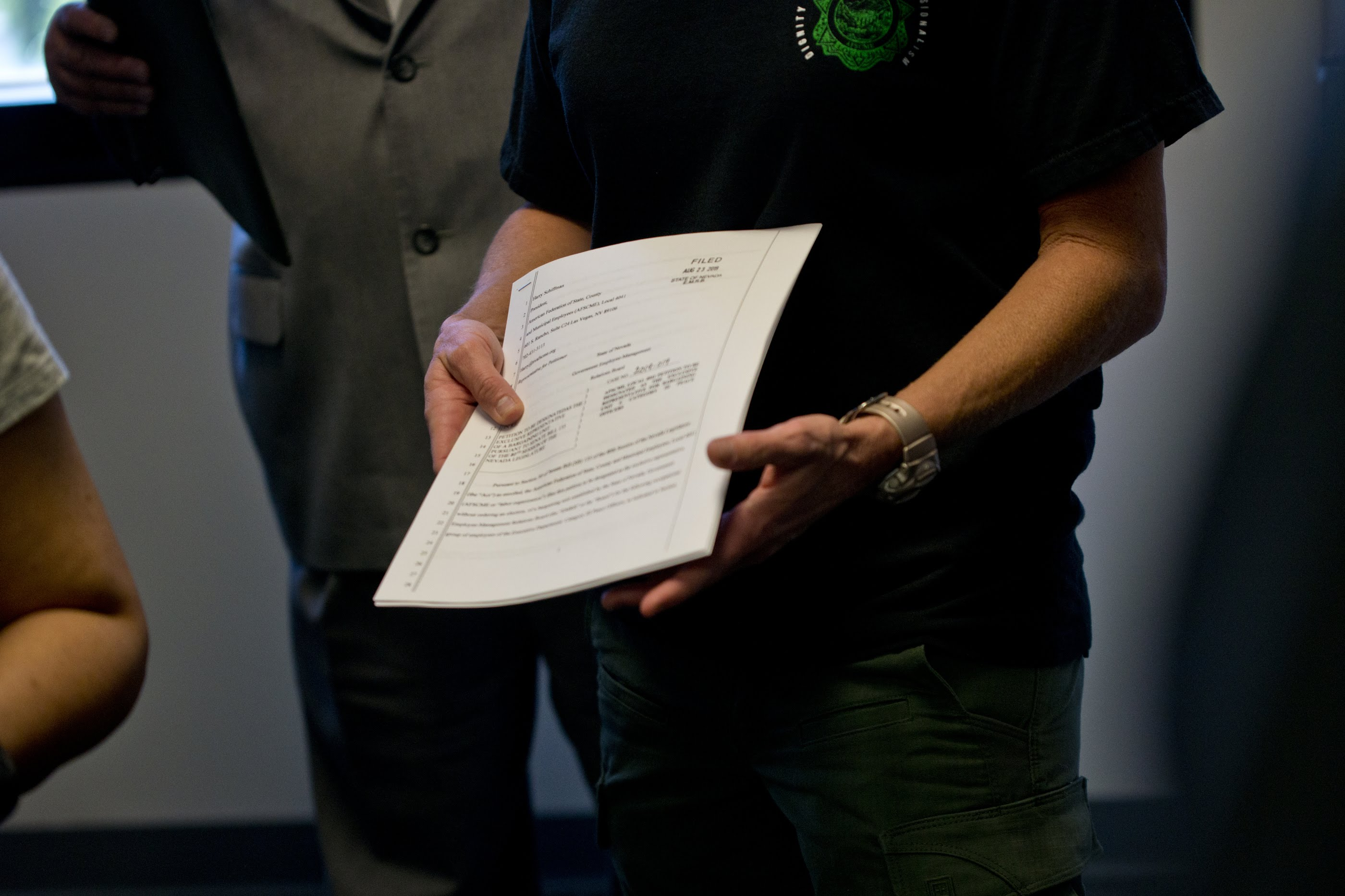 Nevada correctional officers file to collectively bargain, first group of state workers to do so after 2019 law